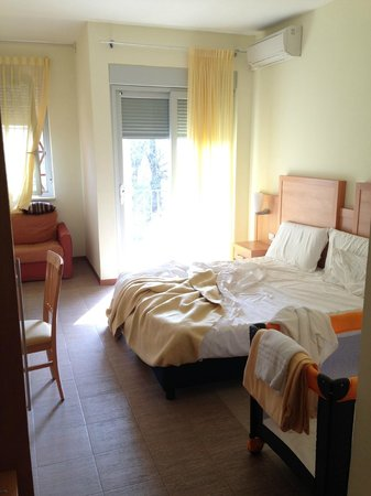 Hotel Foresteria Volterra: room