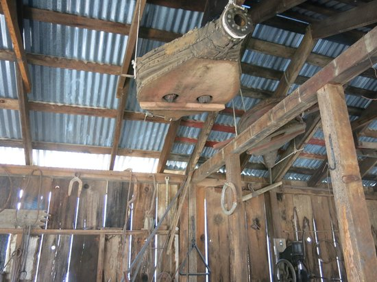 Mariposa Museum and History Center : In the blacksmith's shop.