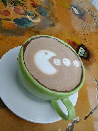 The Coffee Academy: nutellaccino con Pacman, delicioso!!!