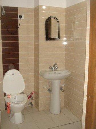 Hotel Mussoorie Mid View: toilet