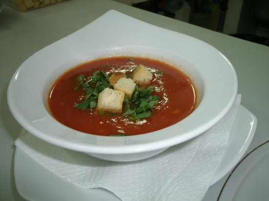 La Roca Restaurant Caribbean Grill: Sopa de tomate