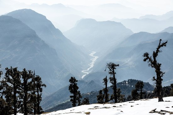 Kumaon, Indien: On the way down from our trek