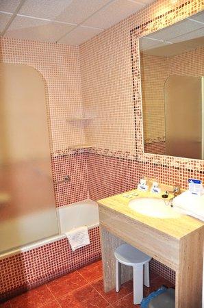 Hotel Entremares: Baño