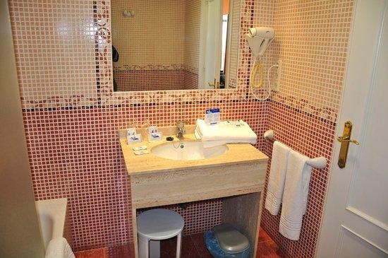 Hotel Entremares: cuarto baño