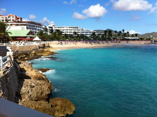 Sonesta Maho Beach Resort, Casino & Spa : View from the Gazebo