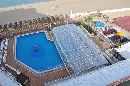 Hotel Entremares: piscina cubierta