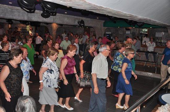 Hotel Entremares: bailes en linea