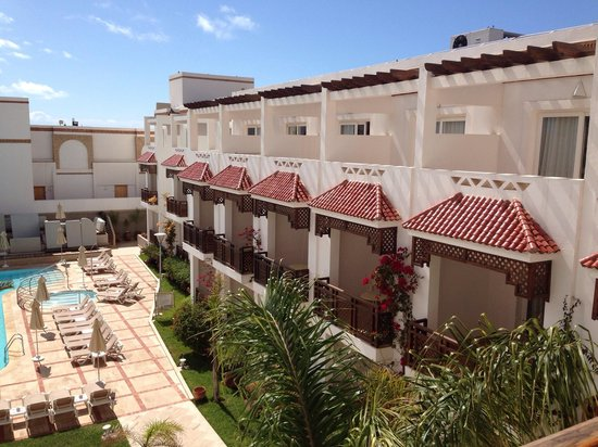 Hotel Timoulay & Spa Agadir: Balcony view