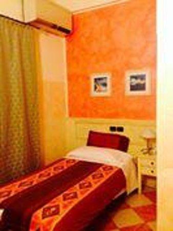 Hotel Due Colonne : la camera singola dove ho soggiornato