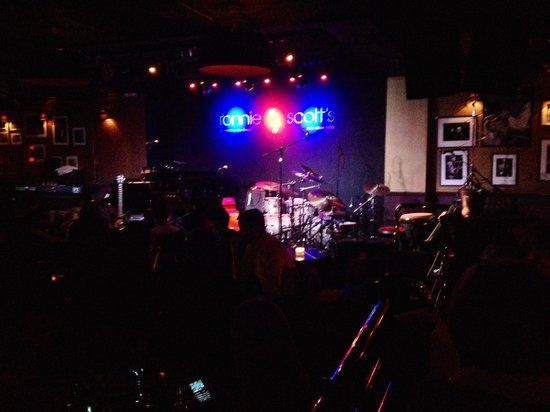 Ronnie Scott's : The upper stage