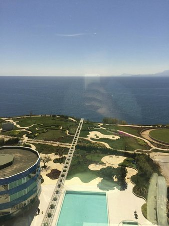 The Marmara Antalya: View from our room