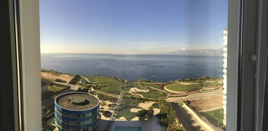 The Marmara Antalya : View from our room