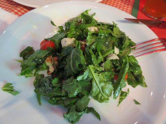 Tiramisú: a salada