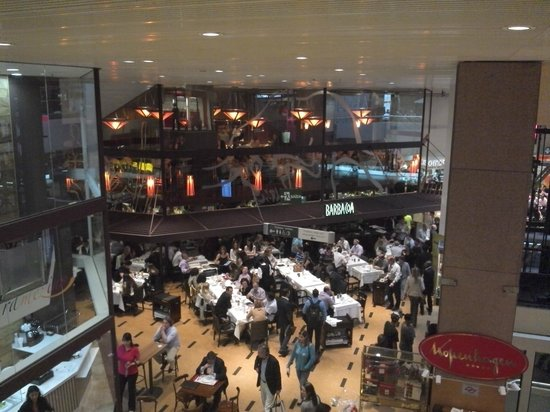 Sheraton Sao Paulo WTC Hotel: Excelente ar condicionado e restaurantes cheios