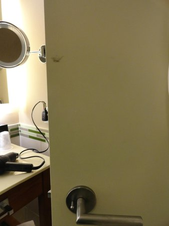 The Westin Washington Dulles Airport: Stained doors. Should keep better care for a 4 star hotel.