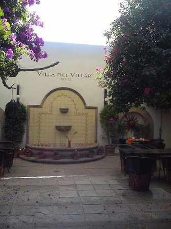 Hotel Villa del Villar: Fuente
