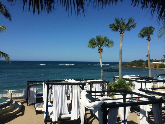 Cofresi Palm Beach & Spa Resort : view from sushi bar