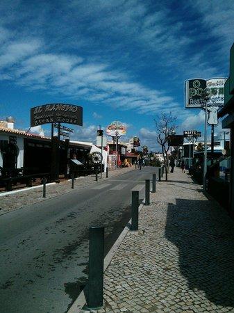 Solar de Sao Joao : The strip 5 mins walk.