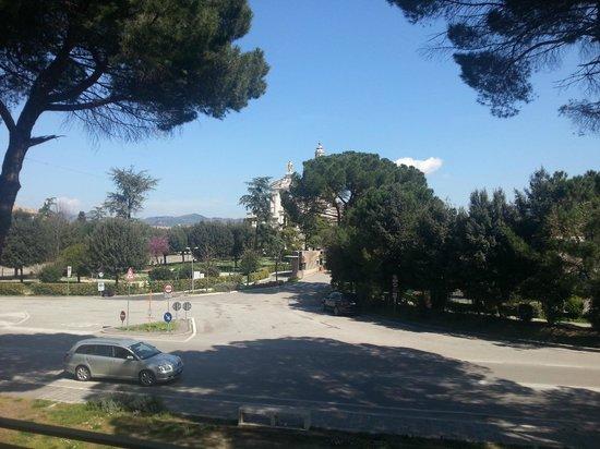 Hotel Donnini : Vista dalla finestra