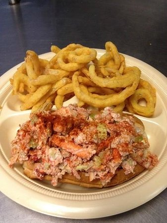 The Haven Restaurant: Real lobster