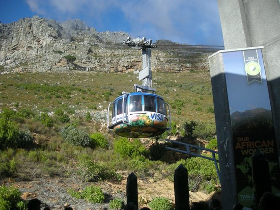 Table Mountain Aerial Cableway: A scary ride up to summit