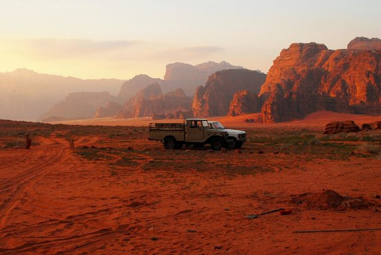 Bedouin Advisor Camp: View from camp site