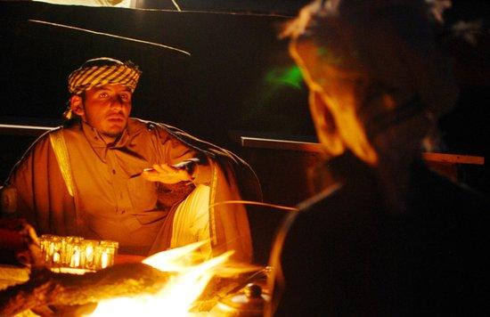 Bedouin Advisor Camp: Camp fire bedouin stories