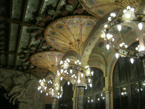 Palais de la Musique Catalane (Palau de la Musica Catalana) : Зал