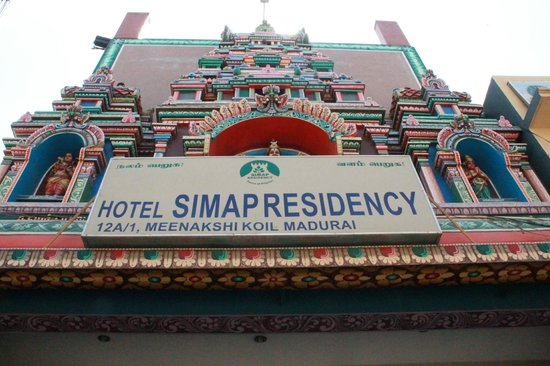 Treebo Simap Residency : entrance