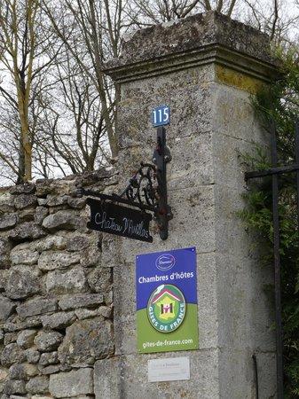 Château d'Auvillers: Entrée du Château