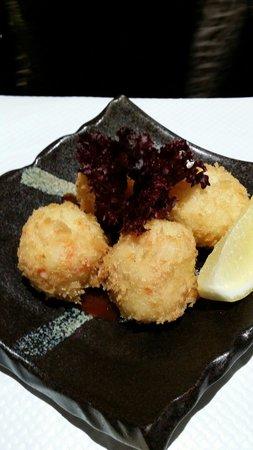Samurai Sushi: Crab balls
