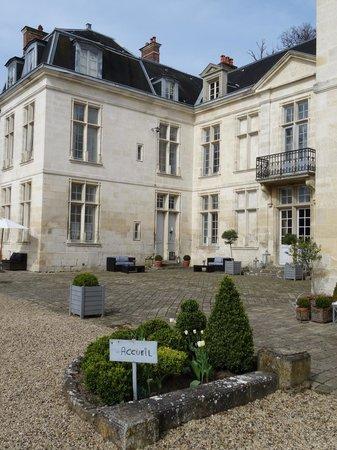Château d'Auvillers: Le château