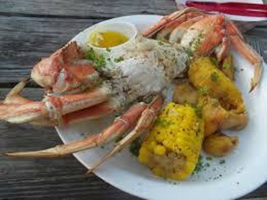 Heidi's Honeymoon Grill: saturday dinner crab night