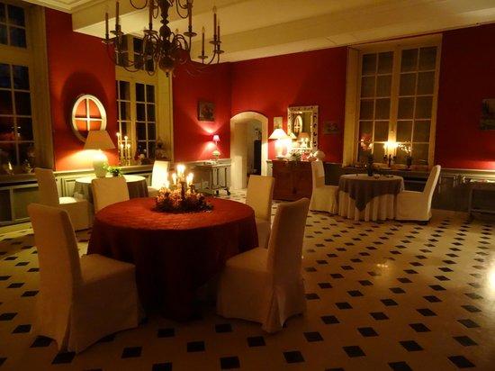 Château d'Auvillers: Salle à manger
