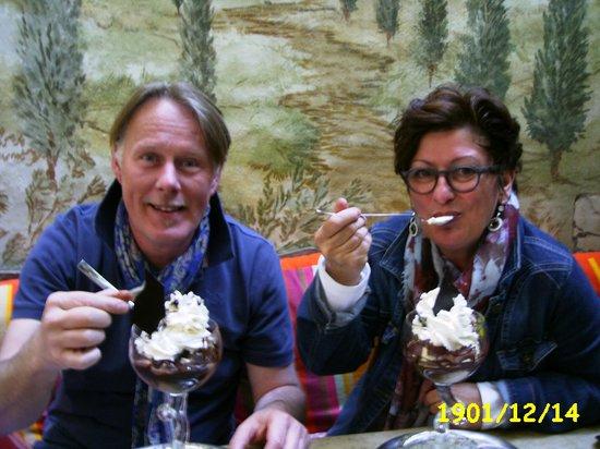 Gelateria Da Vinci: Das beste Eis Belgiens .......... wir schwebten im 7. Eishimmel :)