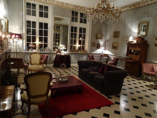 Château d'Auvillers: Salon parme