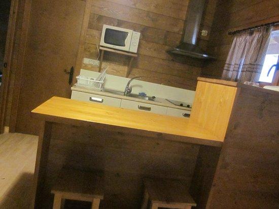Nou Camping: Zona cocina