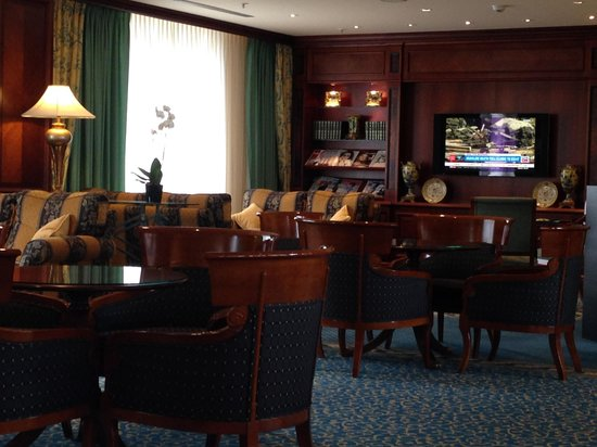 Hilton Antwerp Old Town: My view of the Executive Lounge