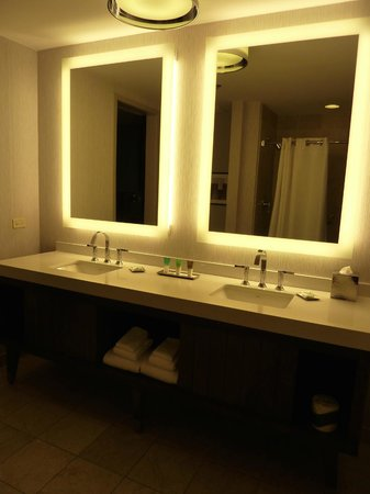 Hyatt Chicago Magnificent Mile : Corner King Suite Bathroom