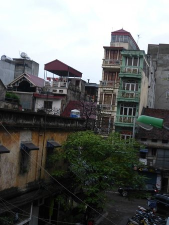 Art Trendy Hotel: side view from room #301