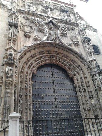 Malaga Cathedral : Il portale del Sagrario