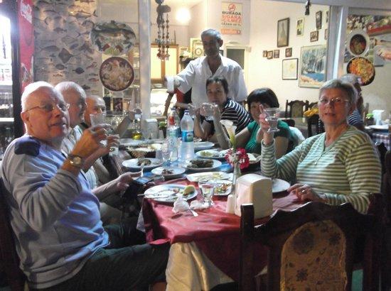 Seda Pension : Akşam yemeğindeyiz...