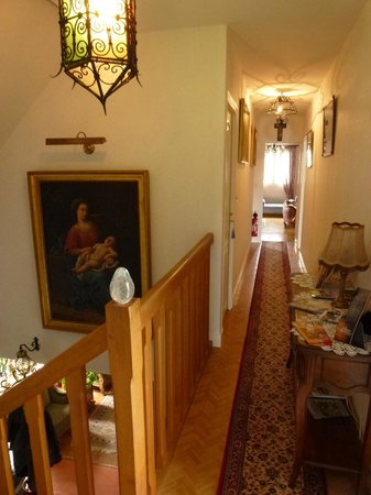 Villa Garnier : couloir menant au chambre