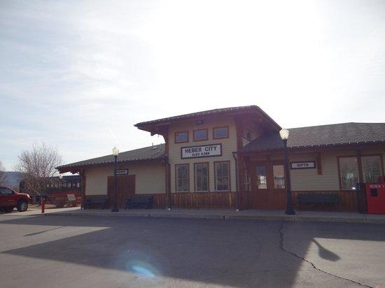 Heber Valley Railroad: depot