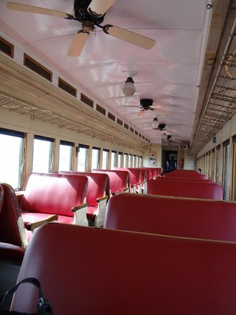 Heber Valley Railroad: vintage rail car, 1929