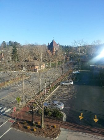 Grand Bohemian Hotel Asheville, Autograph Collection : View of All Soul's Church from our room