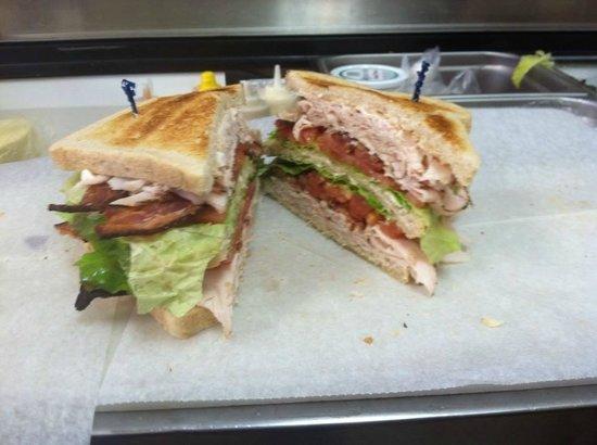 Big Dawg Sandwiches: The Gomer, turkey club