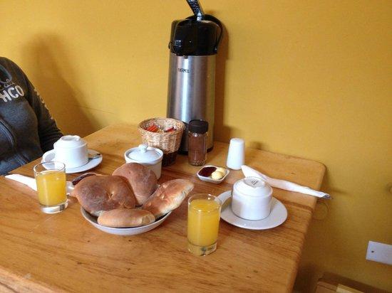 La Casa del Abuelo: Desayuno