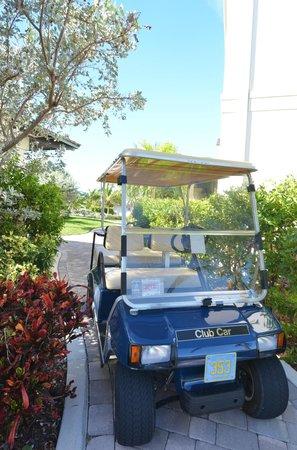 Golf cart, Grand Isle Resort & Spa