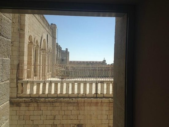 Mamilla Hotel: View from window outside room